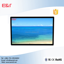 27'' Wall Mounting Interactive capacitive Touch Screen Kiosk, touch screen lcd digitizer monitor
