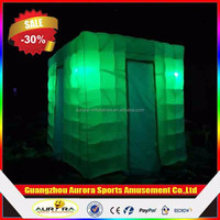 Promotion Wedding digital led inflatable photo booth foldable photo booth for sale