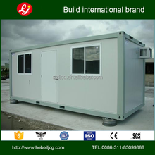 cost saving flatpack Modular Foldable used shipping 20ft prefabricated office container