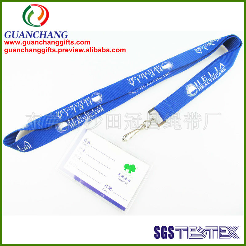 Custom cheap high quality student id cards holder lanyard