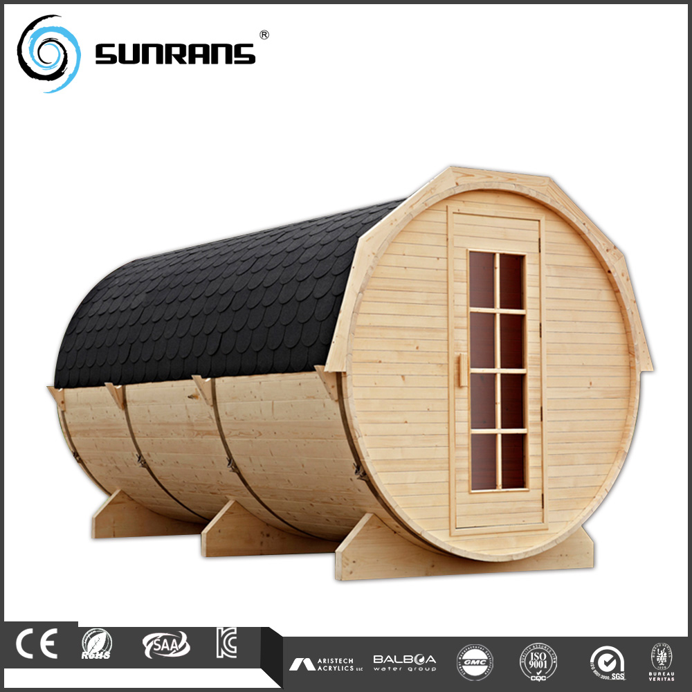 New design luxury barrel far infrared hothouse sauna dome for 6 person sauna