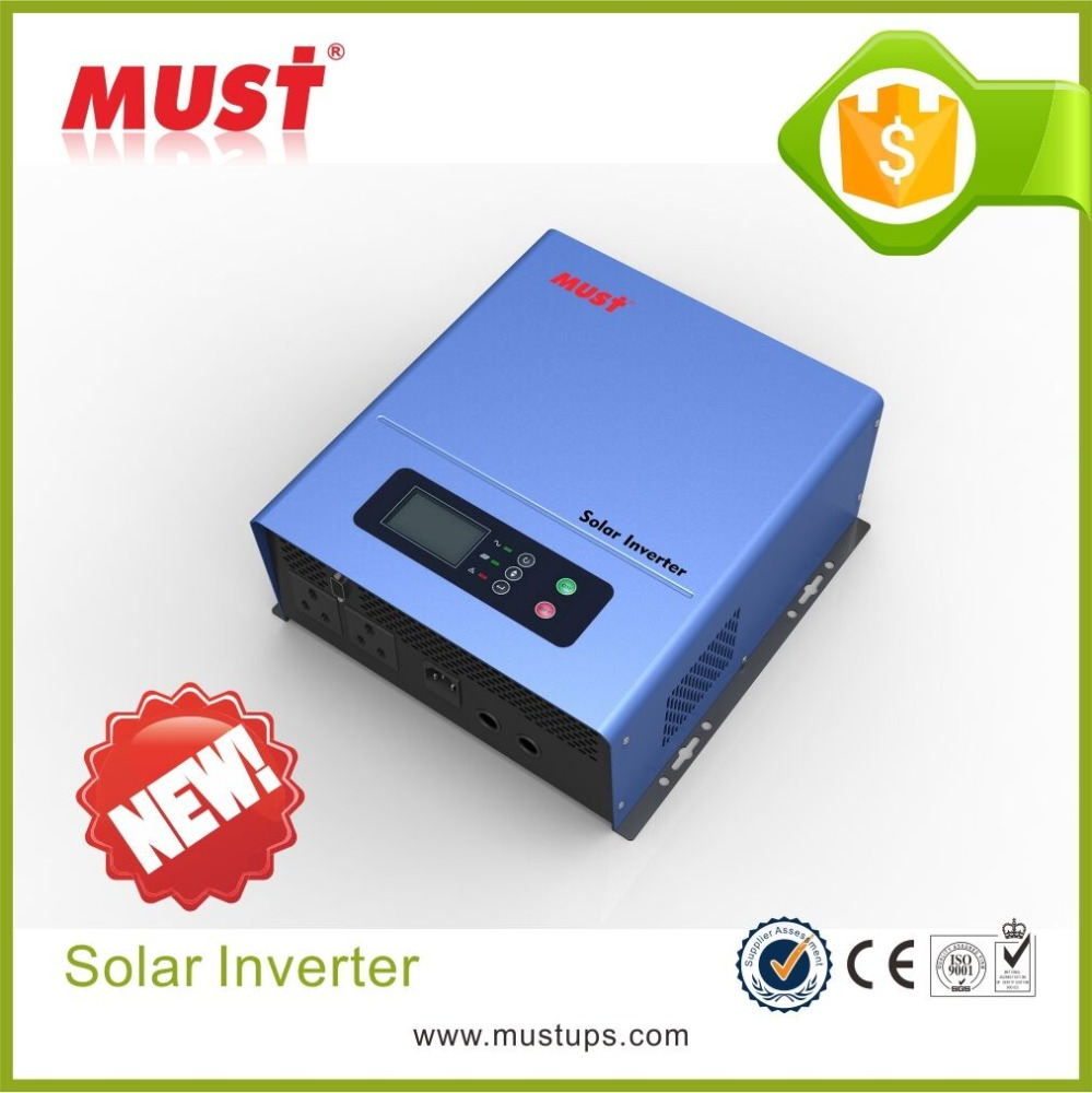 < Must Solar > solar panel inverter 12v to 220v dc ac inverter for fan use