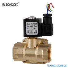0927 pilot operated type 1 inch water air solenoid valve 220v