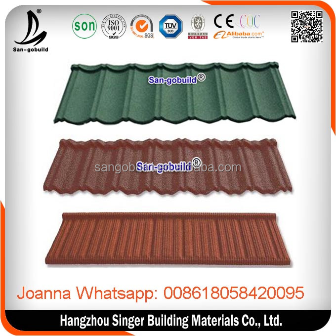 Fire Resist Aluminum zinc roofing sheet/Roof Tiles/raw materials used for construction