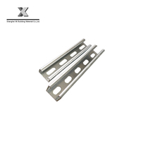 hot dip galvanized 41*21 slotted c channel for ceiling system
