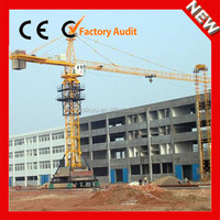 CE-approved Mobile Types of QTZ63 Moving Tower Crane Price in Dubai