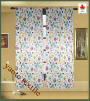 Child Room Blackout 6 hop-pocket window curtain