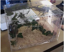 Factory direct wholesale fashion design clear acrylic reptile cages