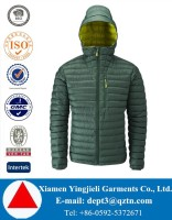 Yingjieli New Design High Quality Men Duck Down Jacket For Winters 2016