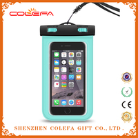 Fluorescent design Waterproof Case,Touchscreen Transparent Shockproof Waterproof Phone Case Dry Bag