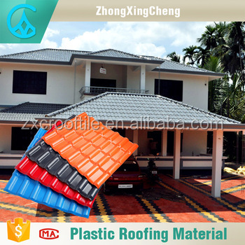 Factory direct sale roof tiles china blue roofing shingles for tourist attractions