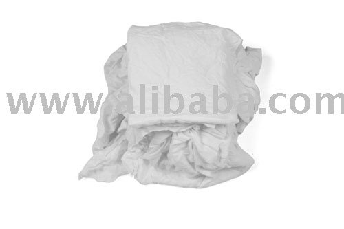 White Wiping 100% Cotton Rags U$ 0.60/kg FOB