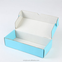 Custom Print Corrugated Paper Color Shipping Mailer Gift Packaging Boxes for Clothing