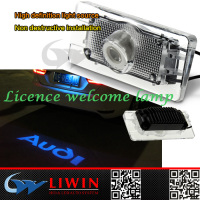 LW Newest High power Licence welcome light for opel auto