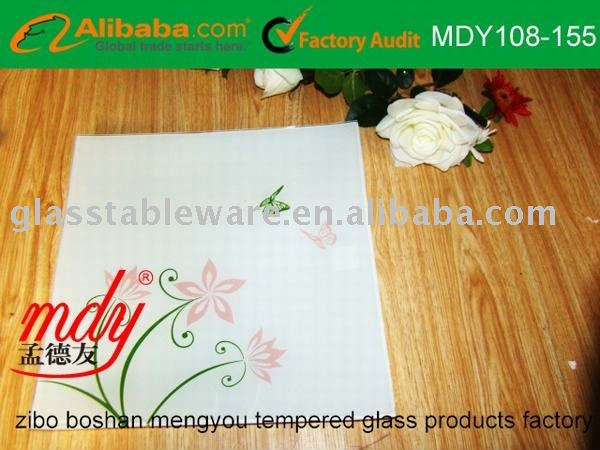 tempered glass cutting board,glass cheese board,glass chopping board