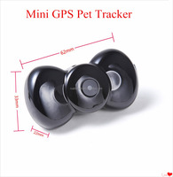 New Multi-function Mini MMS Video GSM/GPRS Real Time GPS Pet Tracker For Pets Dogs Cats Tracking