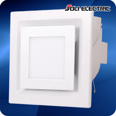 New Design Ceiling LED Light Exhaust Fan