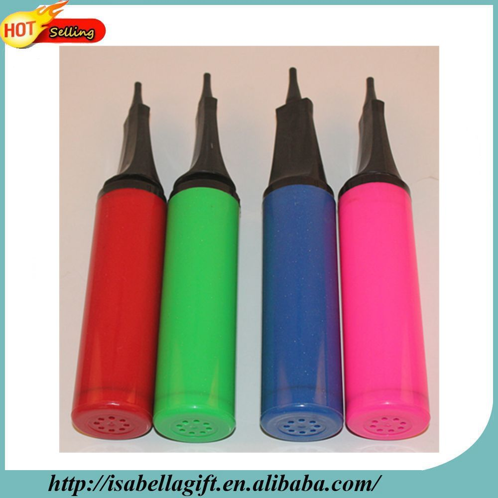 Made in china balloon accessories hand pump for inflator balloon decorating