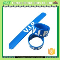 silicone slap bracelet watch/wristband for activity