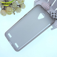 New Model Pudding Soft TPU Back Cover Matte Gel Silicone Case For ZTE Blade A520 Cell Phone