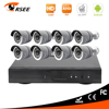 2016 hot product 8ch DVR kit with 720P AHD cameras home security systems