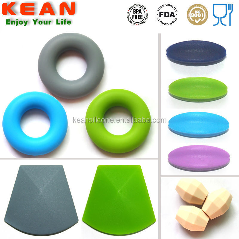 Silicone Teething Beads/Wholesale Food Grade Silicone Teething Beads Bulk silicone teething beads
