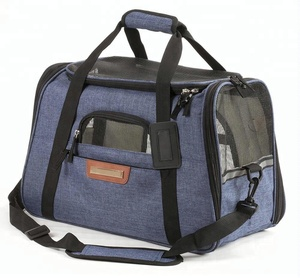 soft sided pet outdoor travelling carrier for dogs and cats