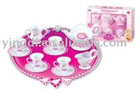 Tea set.tableware toys.plastic toys.