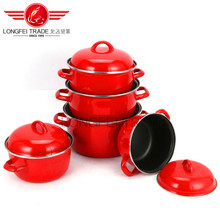 New design luxurious enamel stew pot casserole hot pot turkey pot OEM