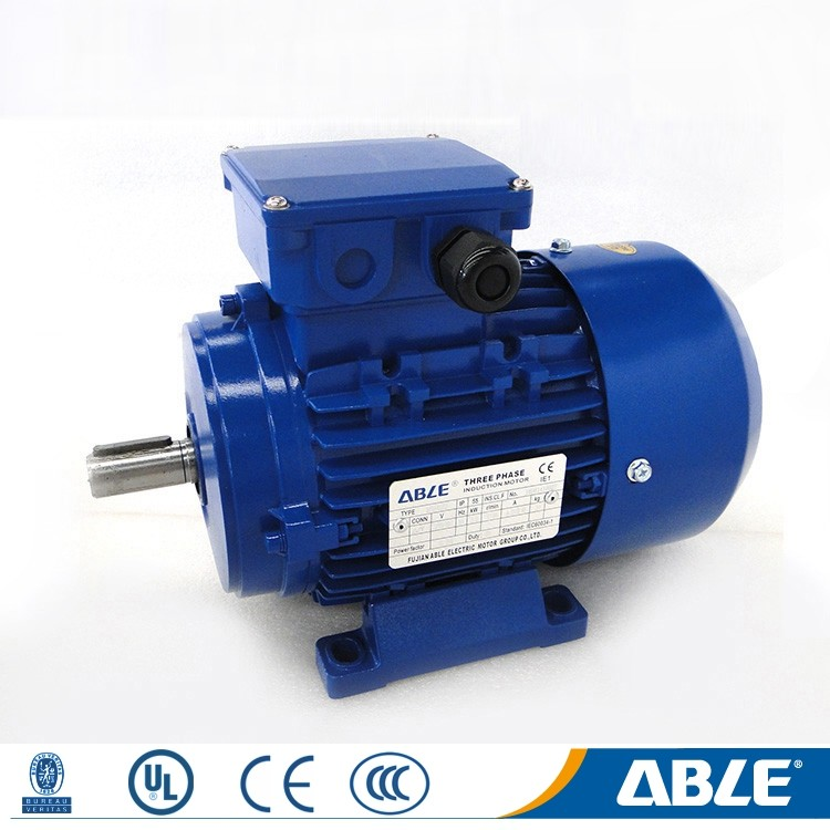 an adjustable noiseless multi speed ac electric motor