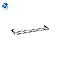 chinese bathroom accessories double towel bar for sale