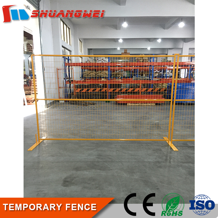 professional Metal Powder coated temporary fencing for sale