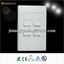 4 gang 2 way electrical switch australian standard (LY4-2(HH))