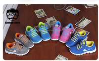 2015 New Children Shoes First Walker For Boys Girls Famous Brand Sneaker Breathable Baby Kids Discount Shoes
