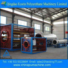 high quality Steel pipe shot blasting derusting descaling