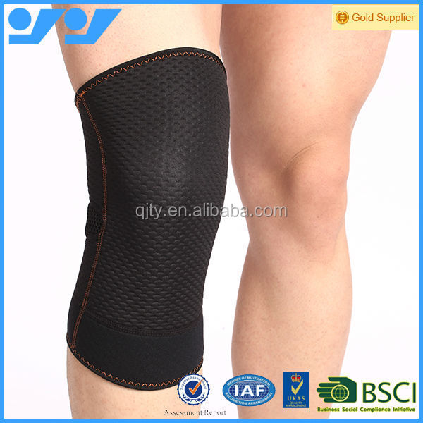 Hot selling anti-bactreial copper infused knee sleeve