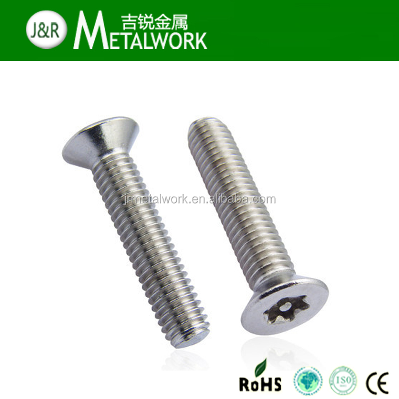 (OEM) Stainless Steel Plum Blossom Countersunk Head Machine Screw
