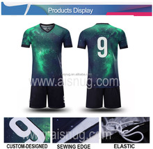dry fit printing custom man united soccer jersey