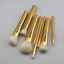 China factory Wholesale price 8pcs small soft synthetic hair best quality makeup brush set