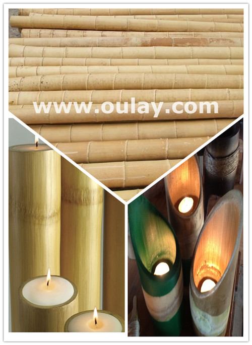 high quality bamboo poles ,material for bamboo candle holders