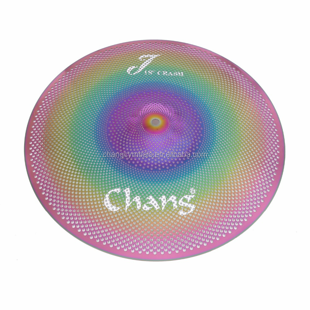 Popular Colorful Low Volume Cymbals For Drum Cymbals