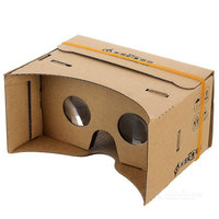 Cheap Universal OEM Google 1.0 Version DIY Virtual Reality Cardboard VR 3D Glasses For iPhone 7 plus Samsung Note
