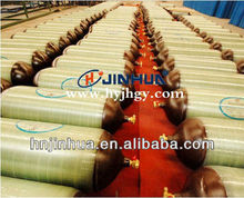 CNG-2 high pressure composite cylinder with steel liner