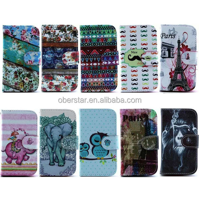 alibaba germany For Samsang Galaxy S5 mini Heavy duty shock proof stand case New product printed wallet leather case For Moto G