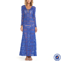 high quality jacquard beach wear sexy ladies long kurta design