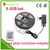 outdoor christmas decoration 8mm 10mm width waterproof 5m smd 5050 3525 rgb multicolor flexible led strip light
