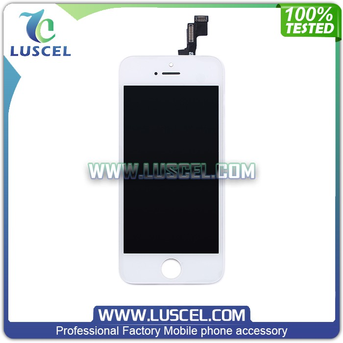 Top Quality LCD touch screen for Iphone 5S LCD display spare parts