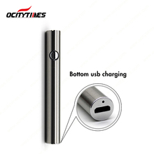 High quality usb ecig battery cbd oil preheat vape variable voltage battery charger