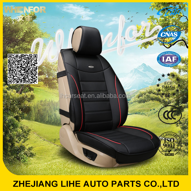 Factory direct supply pu leather car seat cover for sale