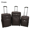Newest Brown Color 600D Waterproof Fabric Hot Sale 20 24 28 Inch Durable Wheeled Travel Luggage Bags Case
